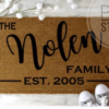 The Nolen Family (leave us your last name and EST YEAR) EST.2005