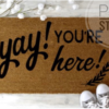 Yay! You're here