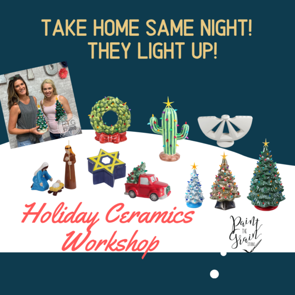 Copy of Copy of Vintage Ceramic ChristmasTrees (Instagram Post)